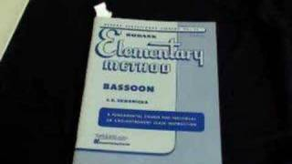 Five Collections of Etudes for Beginning Bassoonists
