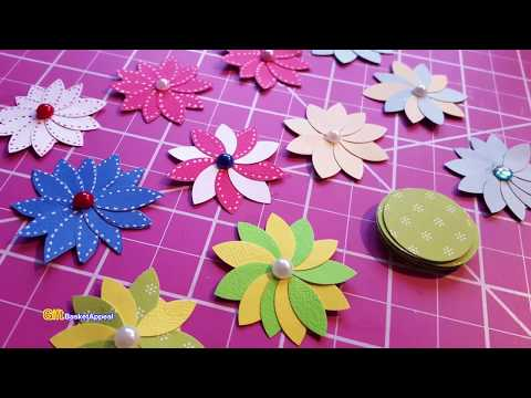 Quick & Easy Circle Punch Flowers | Paper Crafting