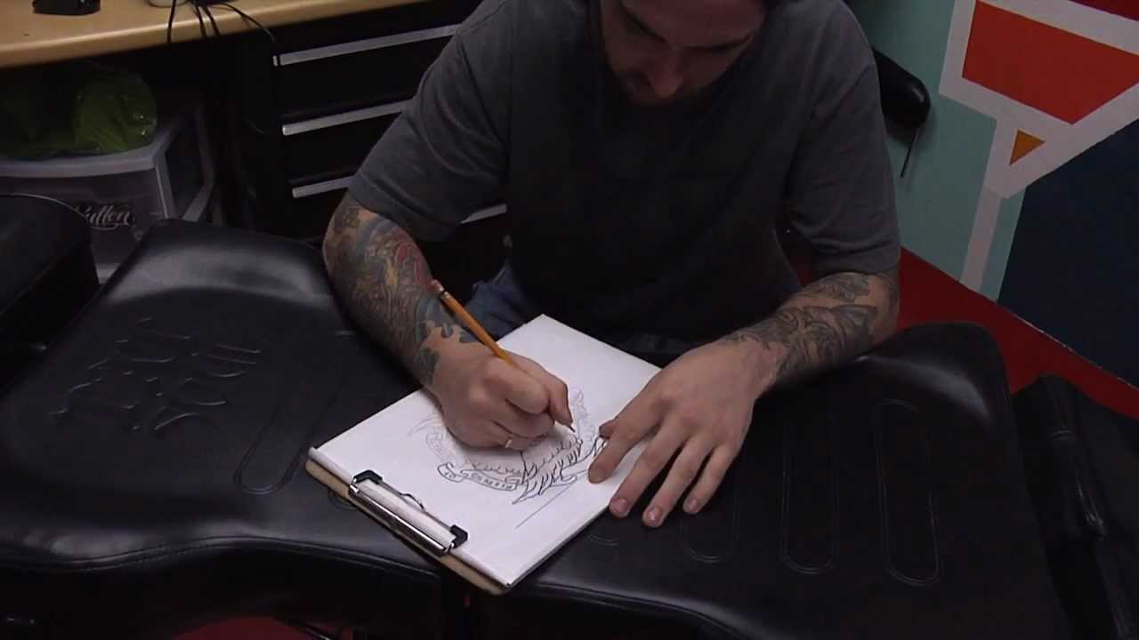 Tattoos by cory james episode 1 youtube for Cory james tattoo