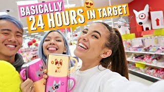 TARGET ADVENTURES! Spending ALL DAY in Target. Basically 24 hours if you