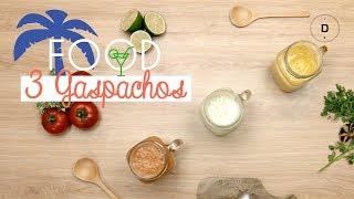 🥣 3 recettes de gaspachos 🍅🥒