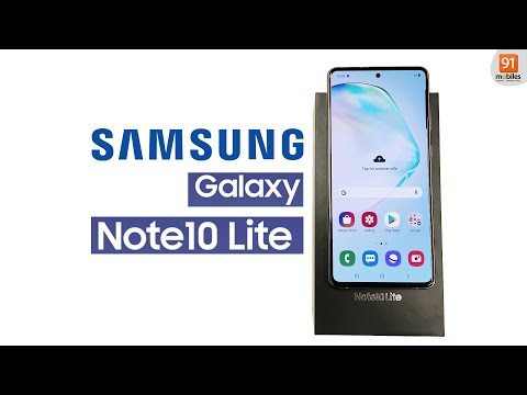 Samsung Galaxy Note 10 Lite: Unboxing | Hands on | Price Hindi हिन्दी