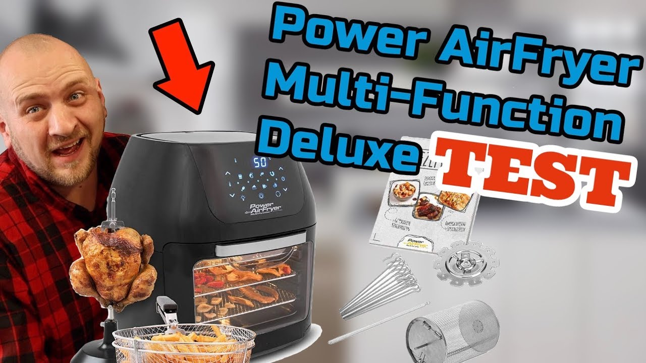 POWER AIR FRYER MULTI FUNKTION DELUXE