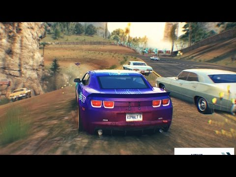 Asphalt 8 Chevrolet Camaro GS vs Chevrolet Impala 32 Racers (Race Suggestion #20)
