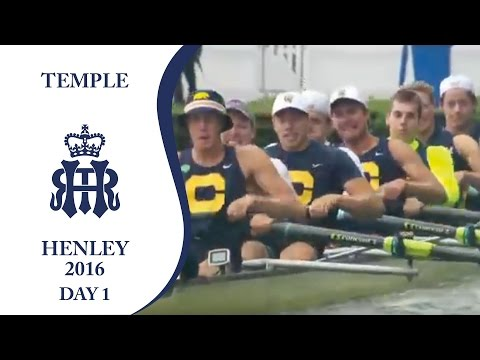 California Berkeley v Brookes 'B' | Day 1 Henley 2016 | Temple