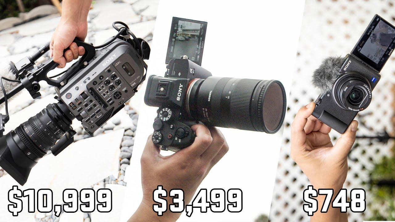 Sony Camera Showdown | A7s III vs FX9 vs ZV-1