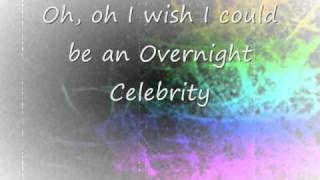 Alyssa Shouse - Overnight Celebrity [HQ] LYRICS ON SCREEN + DOWNLOAD LINK!