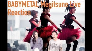 🦊 BABYMETAL Megitsune Live | Reaction リアクションビデオ