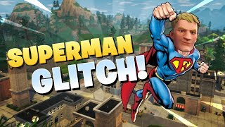 Unlimited Flying in Fortnite Battle Royale | SUPERMAN GLITCH