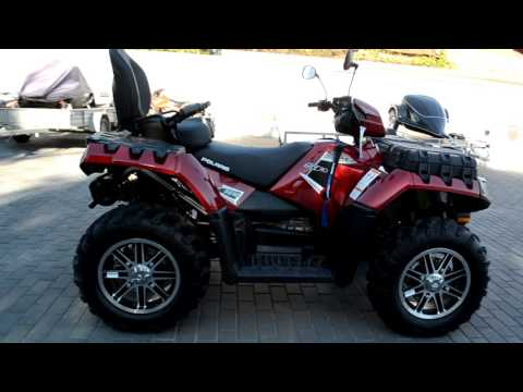 Polaris Sportsman Touring 850 SP SUNSET RED в АРТМОТО