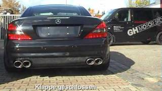 Mercedes SL55 AMG exhaust sound (MUST hear!!!)