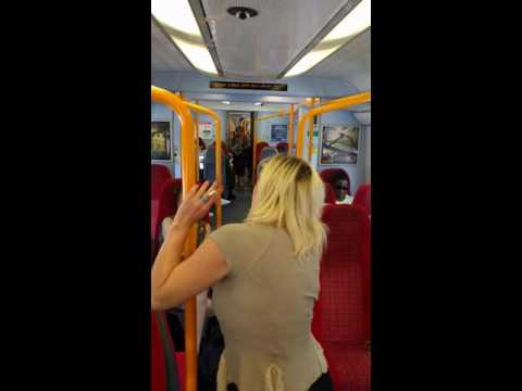 Refusing to stop smoking on South West Trains