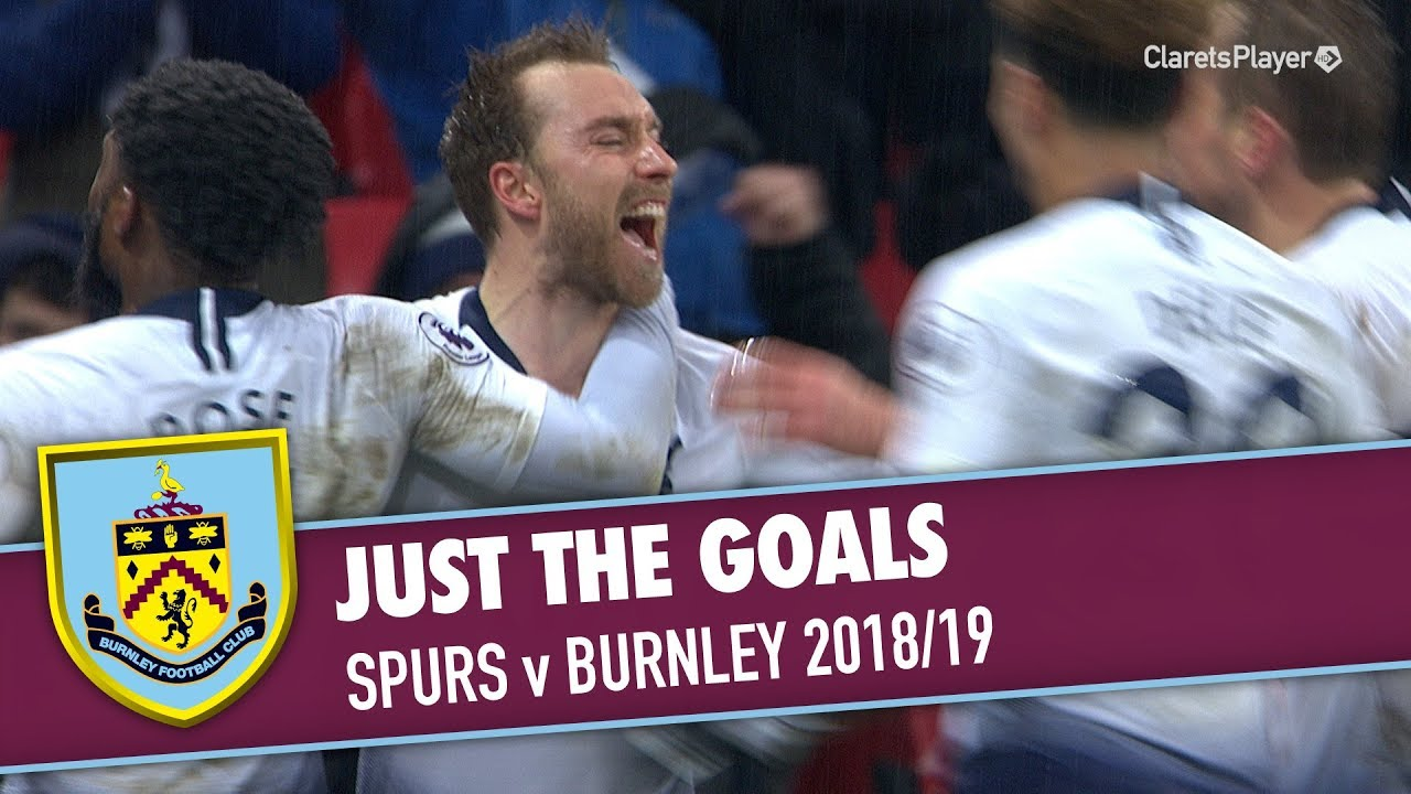 JUST THE GOALS | Tottenham v Burnley 2018/19 - YouTube
