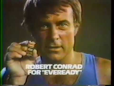 Image result for robert conrad battery commercial