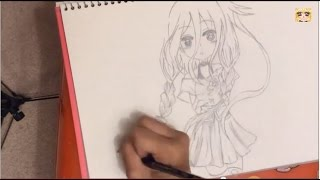 ★Drawing VOCALOID IA! Anime/Manga | Yitsune Melody