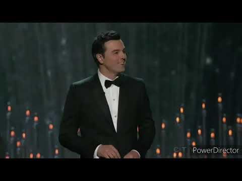 Seth MacFarlane Oscar 2013 Opening #HelberthGong69