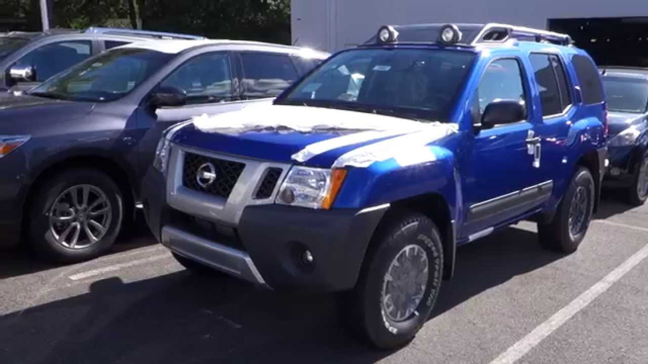 2015 Nissan Xterra Pro 4x M T Youtube