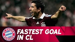 Fastest Champions League Goal Ever! Roy Makaay Shocks Real Madrid | 2006/07