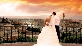 Православное венчание во Флоренции Марии и Максима
