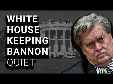 White House Directed Bannon's Silence During Testimony