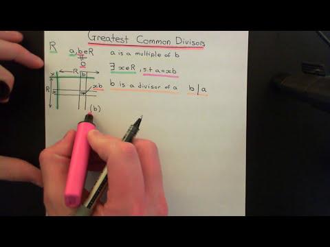 Greatest Common Divisors Part 1