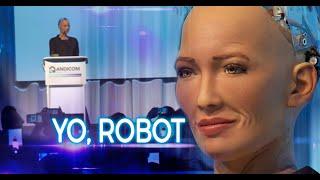 No estoy programada para querer ser humana: Sophia, la robot - Los Informantes