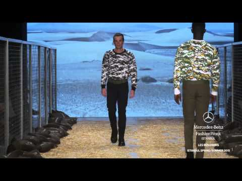 LES BENJAMINS: MERCEDES-BENZ FASHION WEEK ISTANBUL S/S15 COLLECTIONS