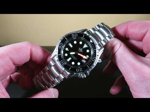 Phoibos Ocean Master 1000M Automatic Diver Watch Review   Value For Money