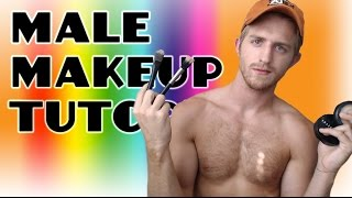 MALE MAKEUP TUTORIAL.