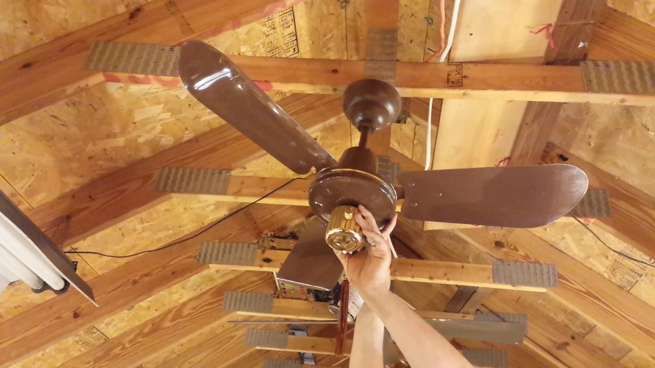 SMC KA36 Ceiling Fan (The Ceiling Fan Page) - YouTube