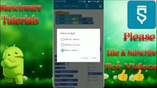 #31.Sketchware Tutoriels - Comment faire de Message application à l'aide de Sketchware