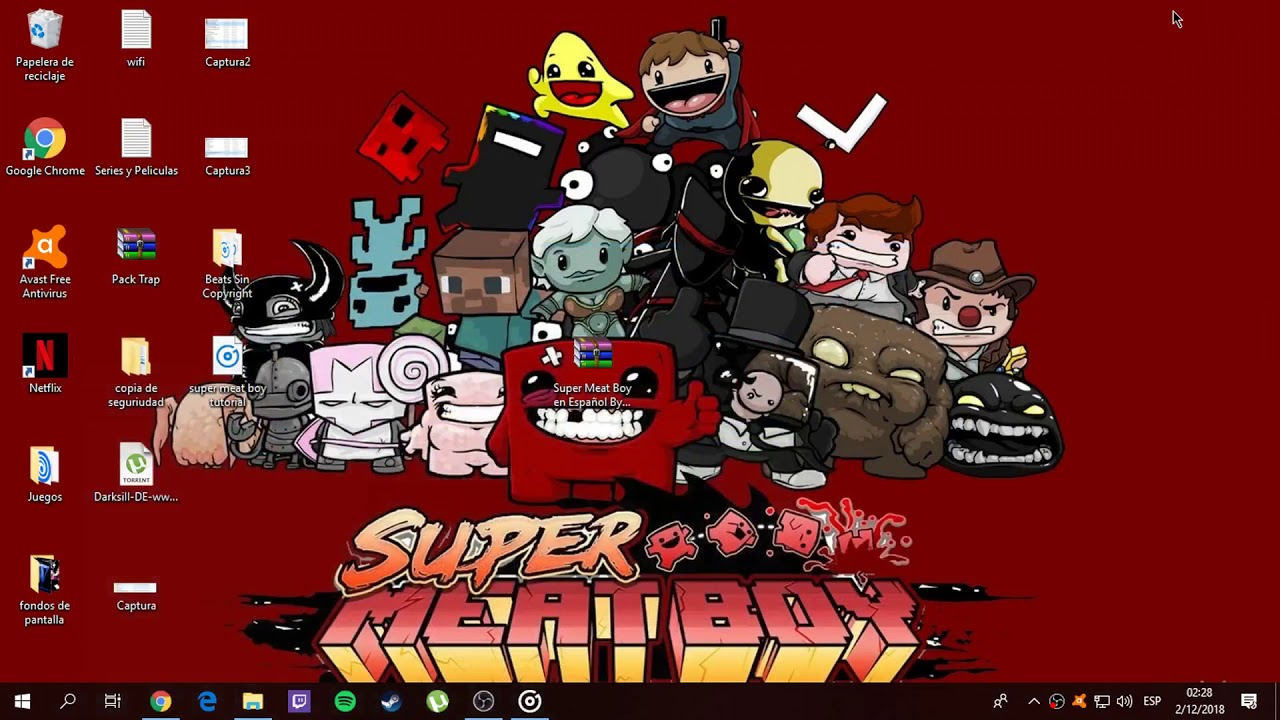 descargar super meat boy para pc