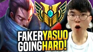Faker Goes Hard and Picks Yasuo! - When Faker Plays Yasuo Mid! | SKT T1 Replays
