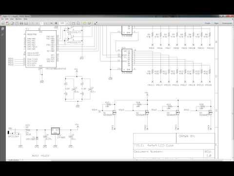4x4x4 LED Cube Part1 (HW) - YouTube on