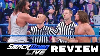 WWE Smackdown Live Review 2/21/2017 | Who is the Number One Contender?