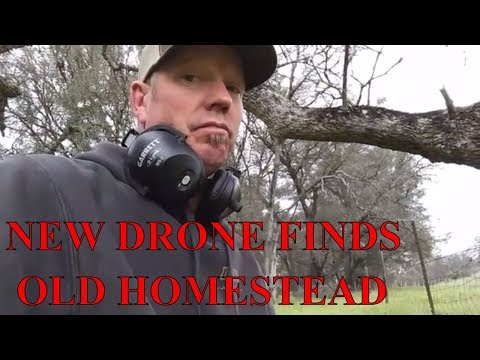 Drone finds old home site