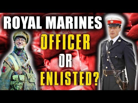Royal Marines OFFICER or ENLISTED? | UNI first? | Medical?  PRMC & Recruit Training Information