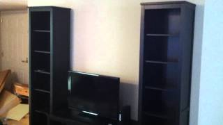 Ikea Entertainment Center Assembly Service Video In Alexandria Va By Furniture Assembly Experts Llc