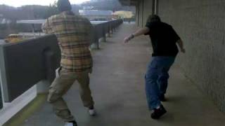 C-Rad and J-Shells Jerkin at School