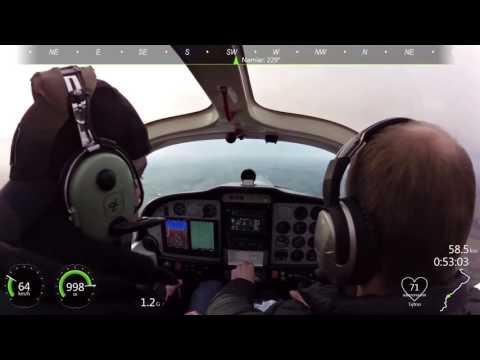 Tecnam P2002JF - PPL(A) Head wind