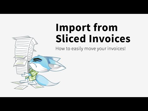 Import from Sliced Invoices into Sprout Invoices