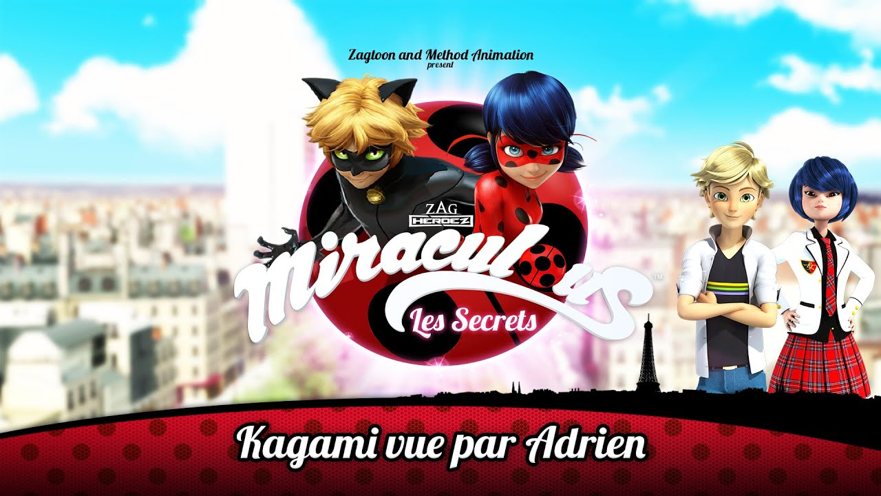 MIRACULOUS | 🐞 LES SECRETS - Kagami vue par Adrien 🐞 | Les aventures de Ladybug et Chat Noir