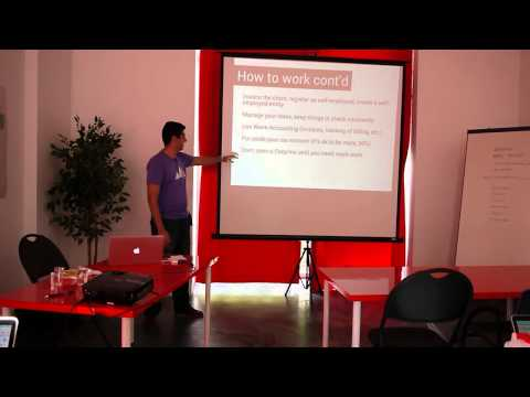 Freelancing and Dealing with Clients by Kalvir Sandhu from Brewhouse