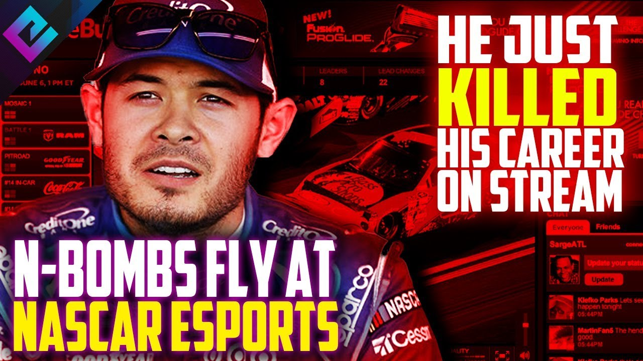 NASCAR Star Kyle Larson Fired For Using N-Word During iRacing ...