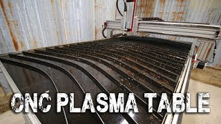 CNC Plasma Cutting Table Assembly and First Cut