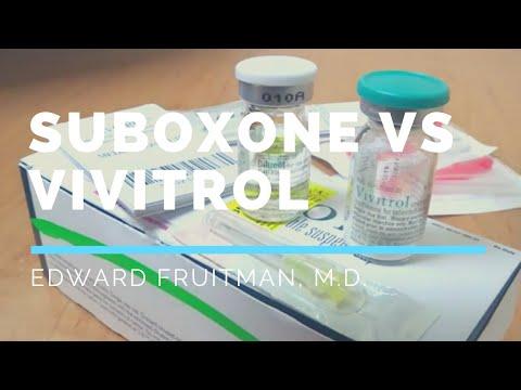 Suboxone vs Vivitrol