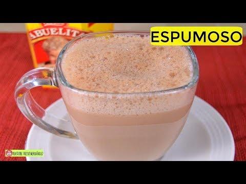 CHOCOLATE caliente SUPER ESPUMOSO| ROSVI HERNANDEZ