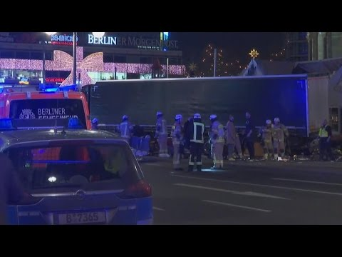 Police Investigate Berlin Truck Crash That Killed 9 As Act of Terrorism
