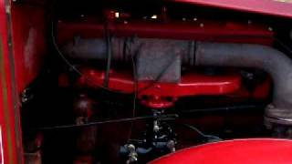 Continental 21R running in a 1935 Sanford Fire Truck - Former Norwich NY