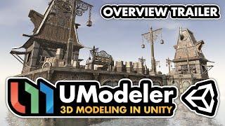 UModeler  - 3D Modeling in Unity